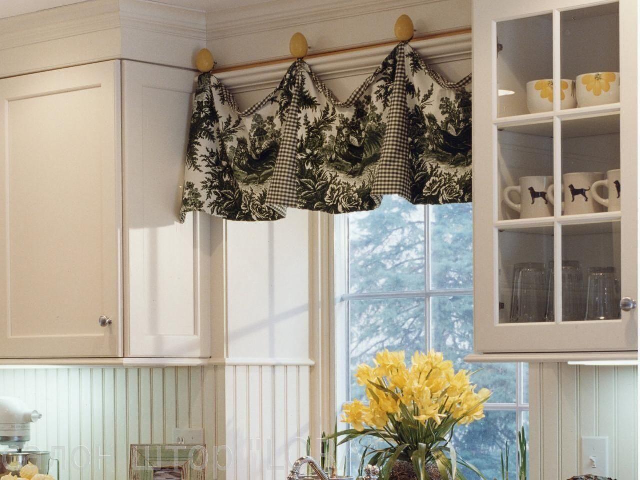 Дизайн гардин для кухни фото