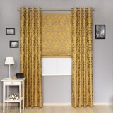 Roman-blind-and-grommet-curtains-set-Brenda-3